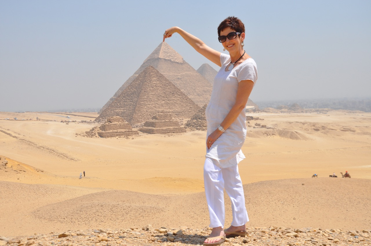 Touching the Pyramids
