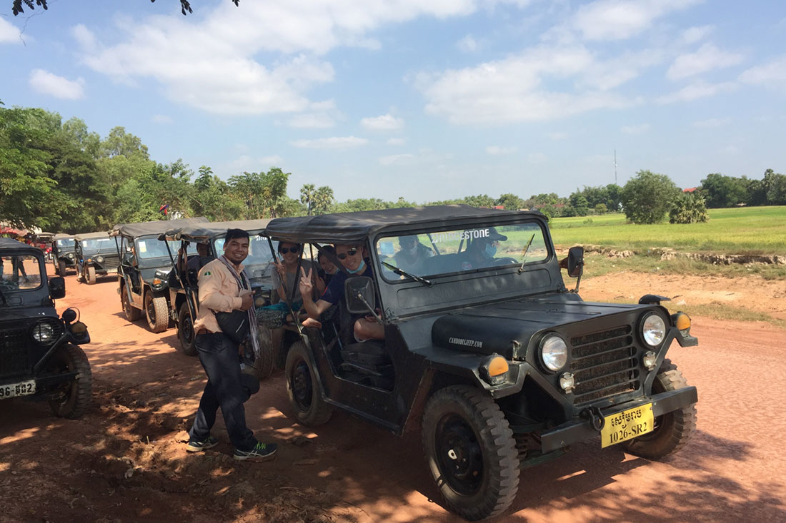 Jeep Tour, Cambodia