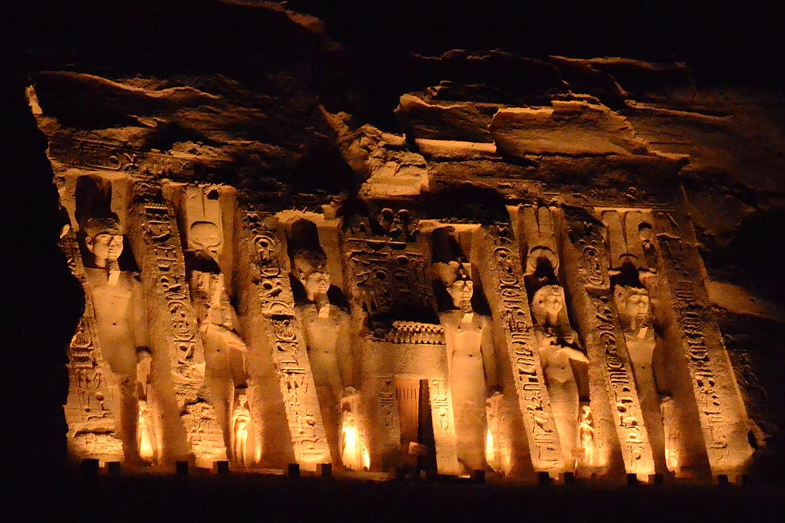 Hathor's Temple, Abu Simbel, Egypt