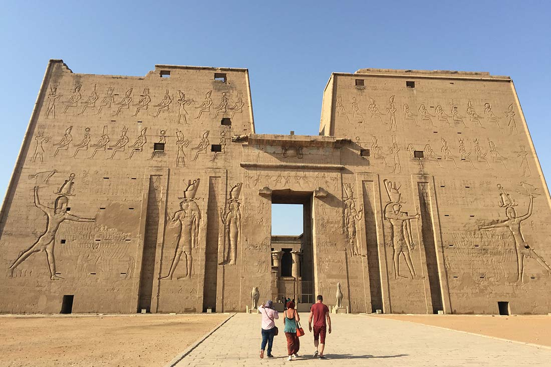 Temle of Horus, Edfu, Egypt