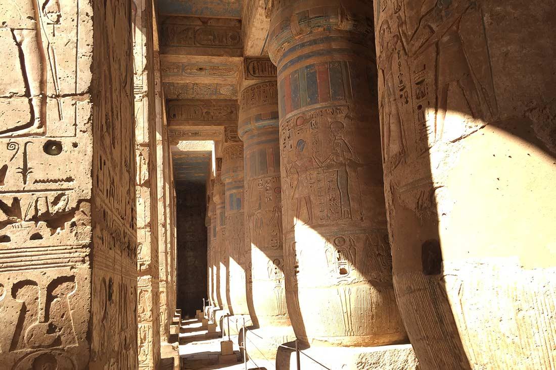 Habu Temple, Luxor Egypt