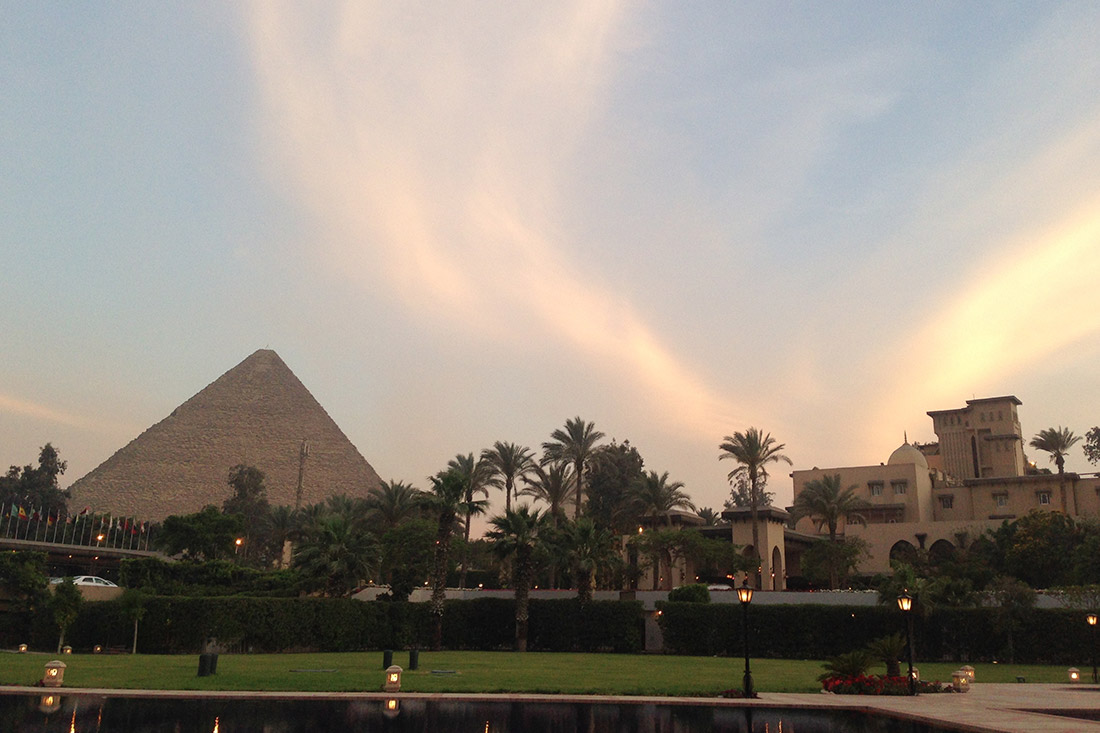 Mena House, Cairo Egypt