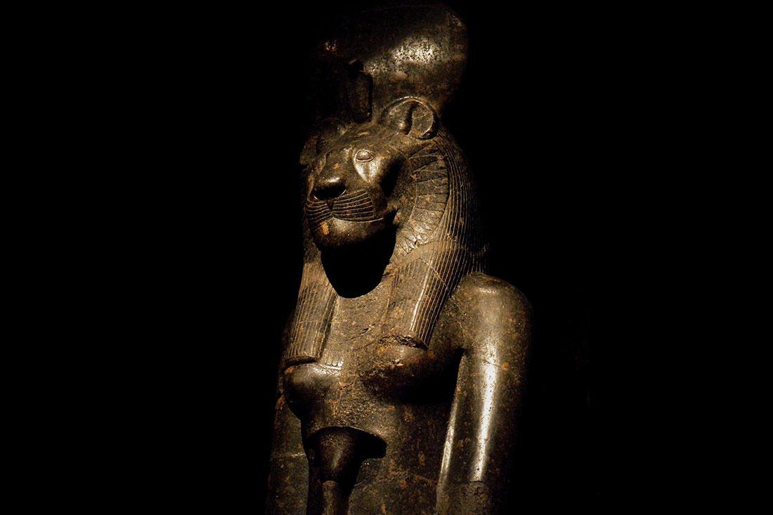 Goddess Sekhmet, Karnak, Egypt