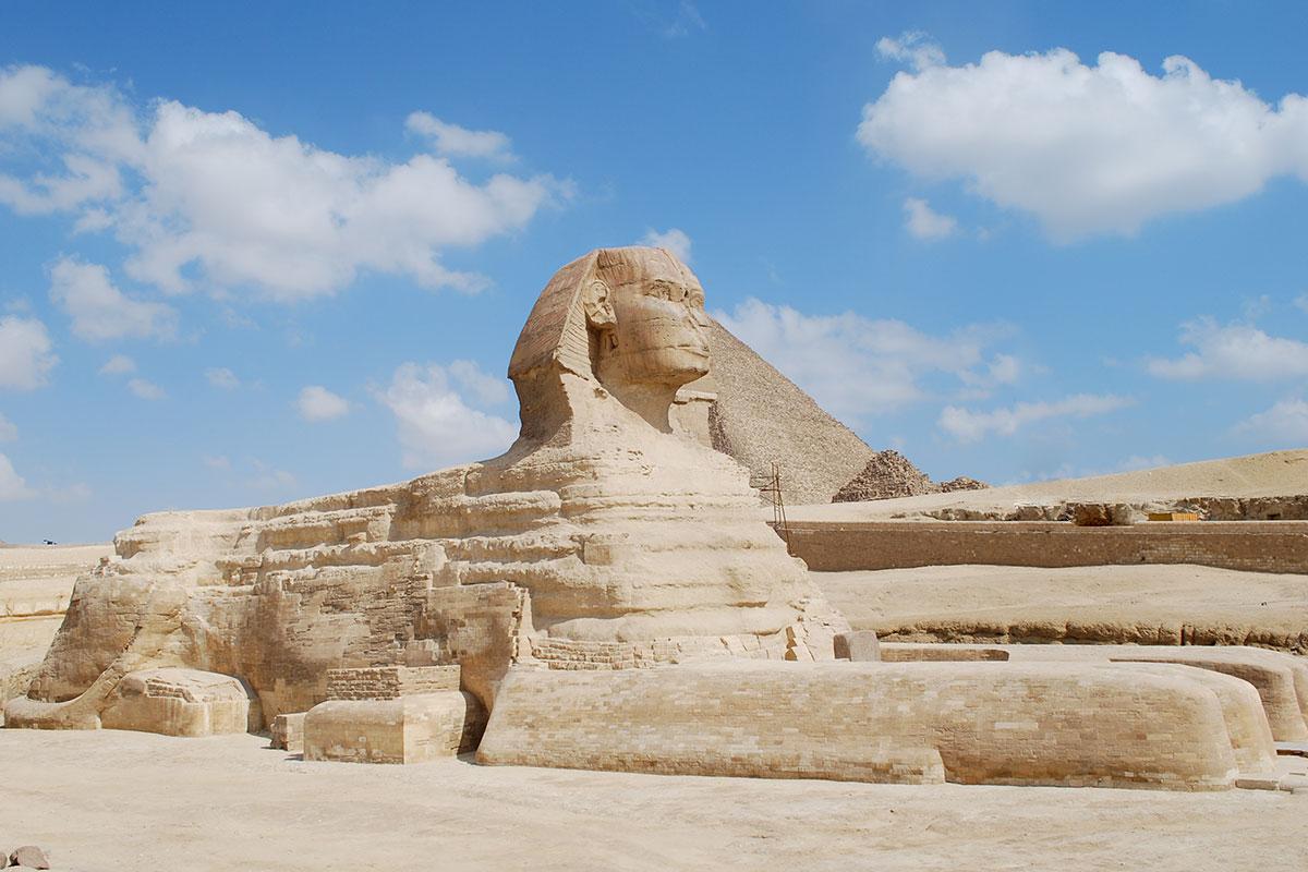 Sphinx, Giza Plateau, Egypt
