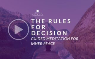 The Rules for Decision